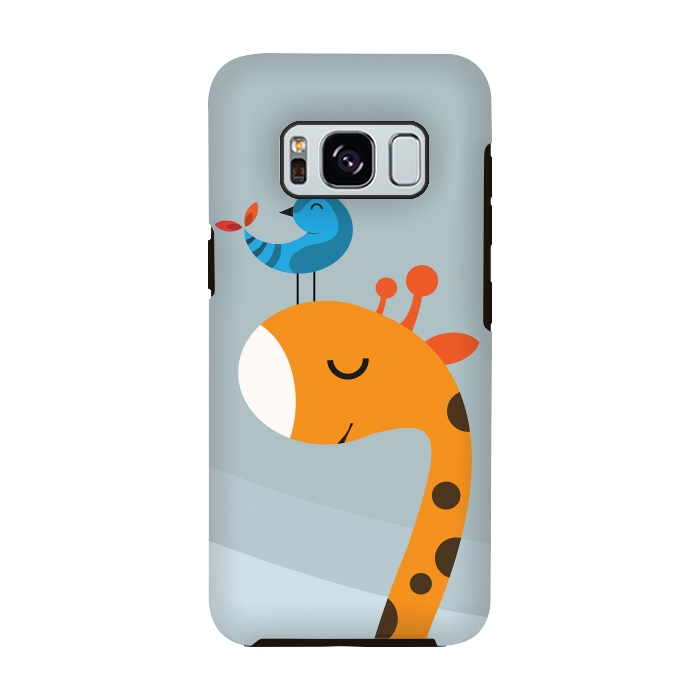 AC-00028804, Phone cases, Galaxy S8, Galaxy S8 plus, StrongFit Galaxy S8, StrongFit Galaxy S8, Volkan Dalyan, Orange, Designers, Tough Cases,