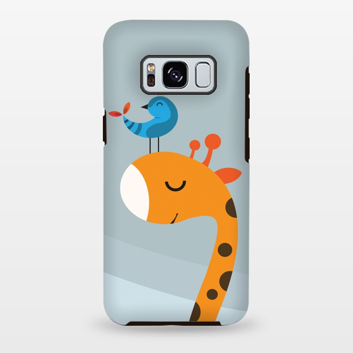 AC-00028810, Phone cases, Galaxy S8+, Galaxy S8 plus, StrongFit Galaxy S8+, StrongFit Galaxy S8 plus, Volkan Dalyan, Orange, Designers, Tough Cases,