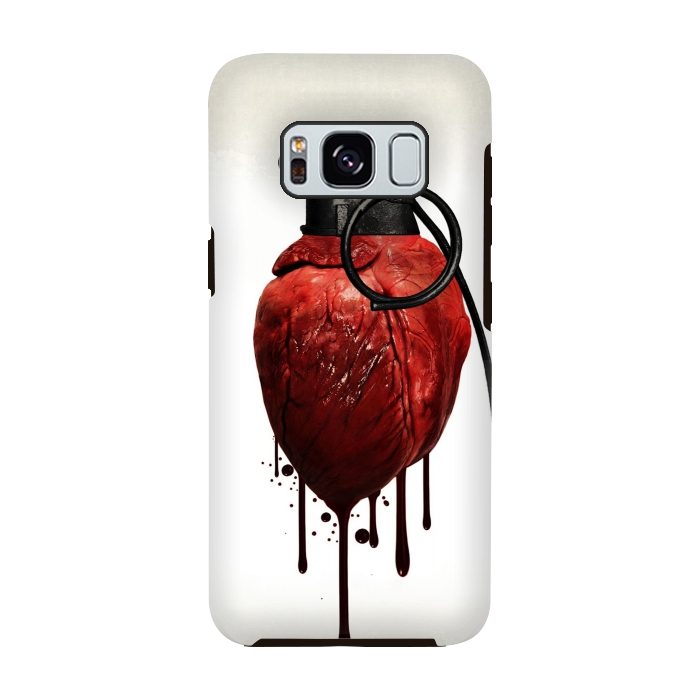 AC-00028815, Phone cases, Galaxy S8, Galaxy S8 plus, StrongFit Galaxy S8, StrongFit Galaxy S8, Nicklas Gustafsson, Heart Grenade, Designers, Tough Cases,