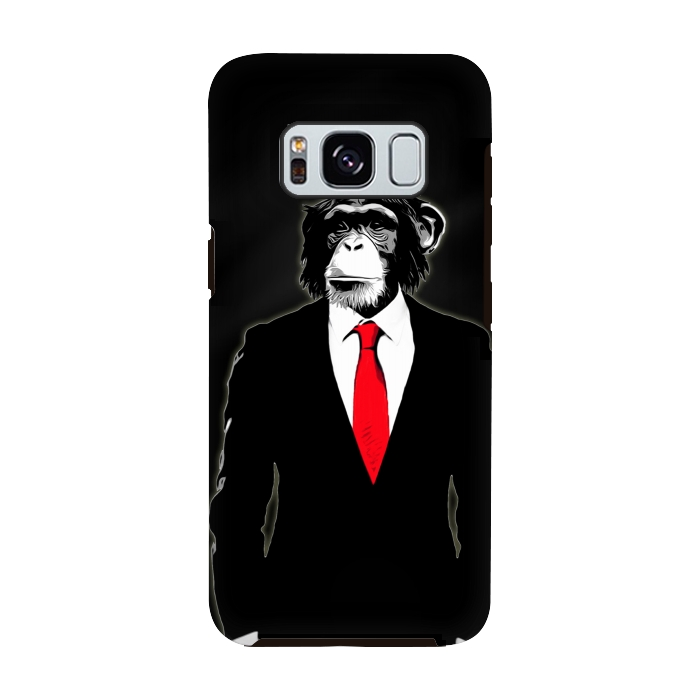 AC-00028821, Phone cases, Galaxy S8, Galaxy S8 plus, StrongFit Galaxy S8, StrongFit Galaxy S8, Nicklas Gustafsson, Domesticated Monkey, Designers, Tough Cases,