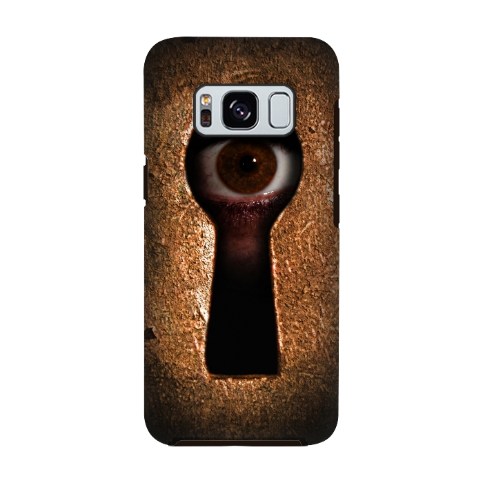 AC-00028824, Phone cases, Galaxy S8, Galaxy S8 plus, StrongFit Galaxy S8, StrongFit Galaxy S8, Nicklas Gustafsson, Who is watching you, Designers, Tough Cases,