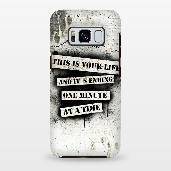 AC-00028833, Phone cases, Galaxy S8+, Galaxy S8 plus, StrongFit Galaxy S8+, StrongFit Galaxy S8 plus, Nicklas Gustafsson, This is your life, Designers, Tough Cases,