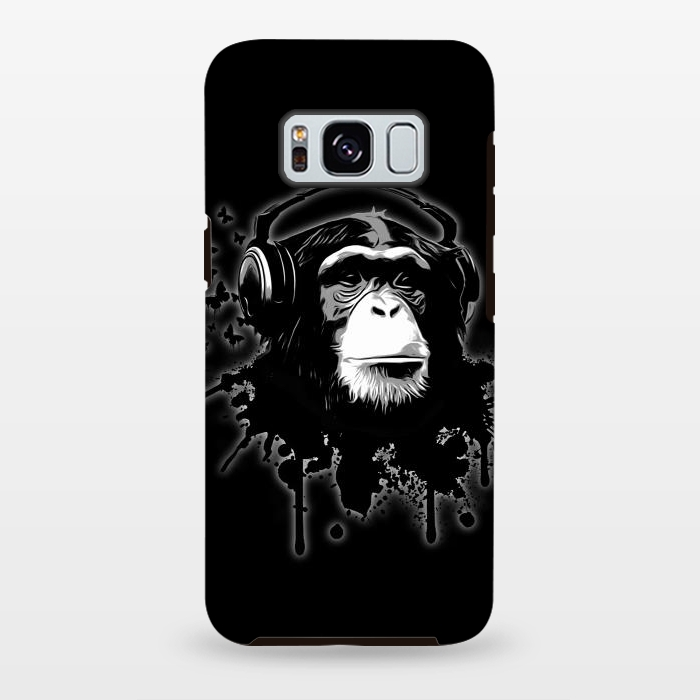 AC-00028837, Phone cases, Galaxy S8+, Galaxy S8 plus, StrongFit Galaxy S8+, StrongFit Galaxy S8 plus, Nicklas Gustafsson, Monkey business Black, Designers, Tough Cases,
