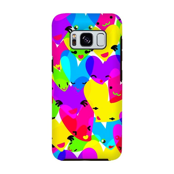 AC-00028841, Phone cases, Galaxy S8, Galaxy S8 plus, StrongFit Galaxy S8, StrongFit Galaxy S8, MaJoBV, Sweet Hearts, Designers, Tough Cases,