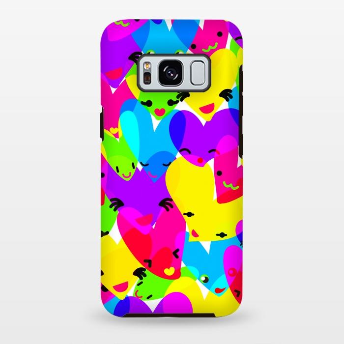 AC-00028850, Phone cases, Galaxy S8+, Galaxy S8 plus, StrongFit Galaxy S8+, StrongFit Galaxy S8 plus, MaJoBV, Sweet Hearts, Designers, Tough Cases,