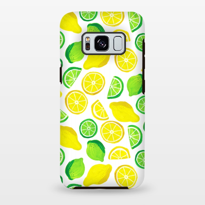 painted lemon and limes