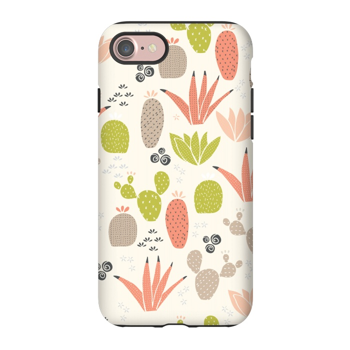 AC-00033579, Phone Cases, iPhone 7, StrongFit, Sarah Price Designs, Cactus County Cactus, Designers,Cactus,Desert