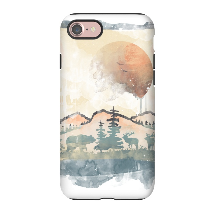 FRAMED SCENERY - StrongFit iPhone 8/7 Cases | ArtsCase