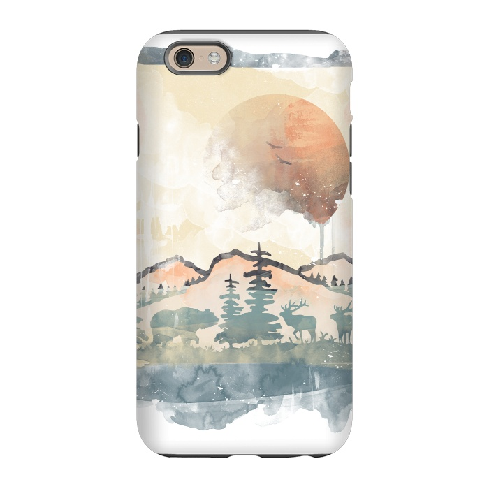FRAMED SCENERY - StrongFit iPhone 6/6s Cases | ArtsCase