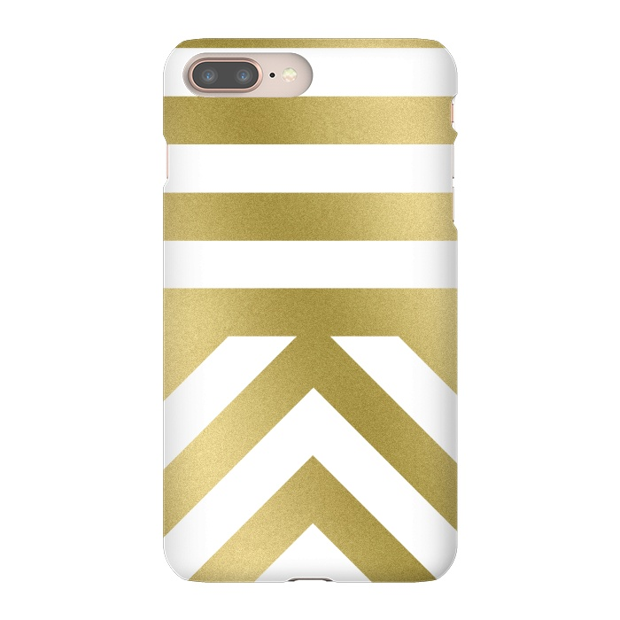 Gold Chevron Stripes
