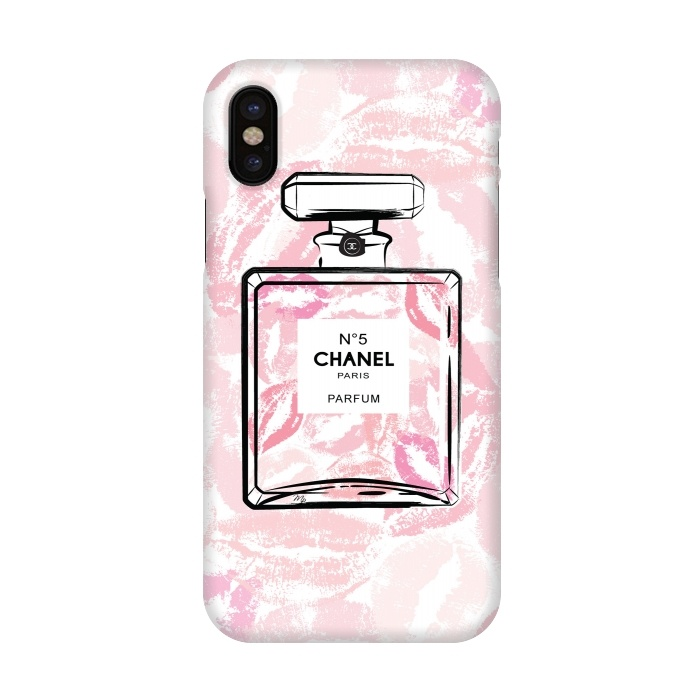 Chanel Kisses - SlimFit iPhone Xs/X Cases | ArtsCase