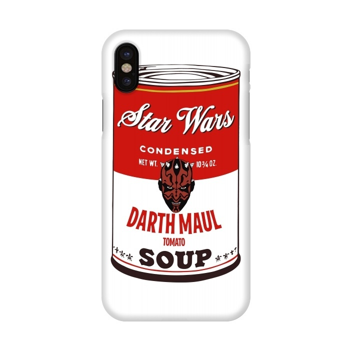 Star Wars Campbells Soup Darth Maul