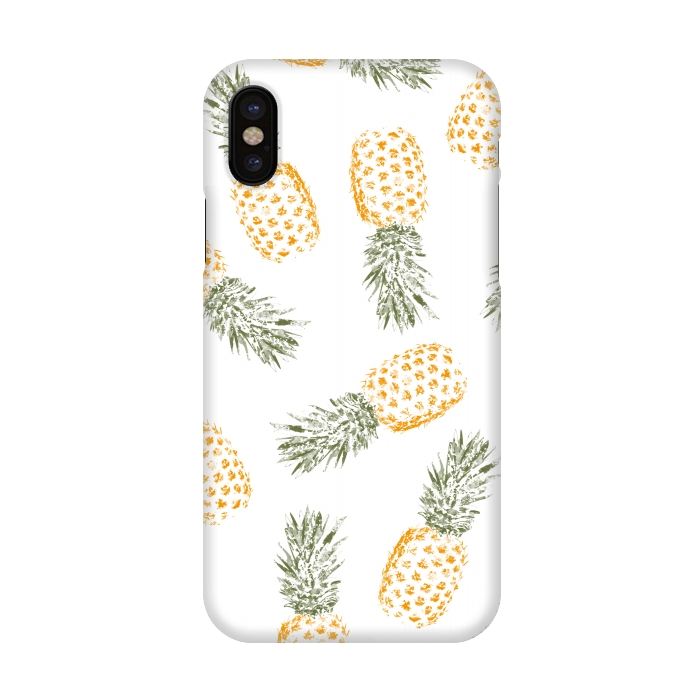 timeless design 83036 83f34 iPhone X Cases Pineapple by Rui Faria | ArtsCase