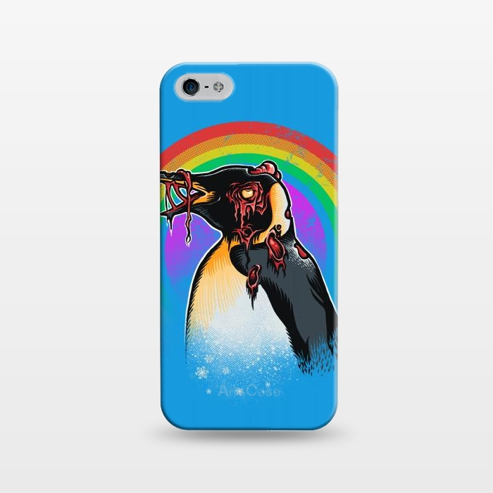 iPhone 5/5E/5s Cases Zombie Penguin by Branko Ricov | ArtsCase