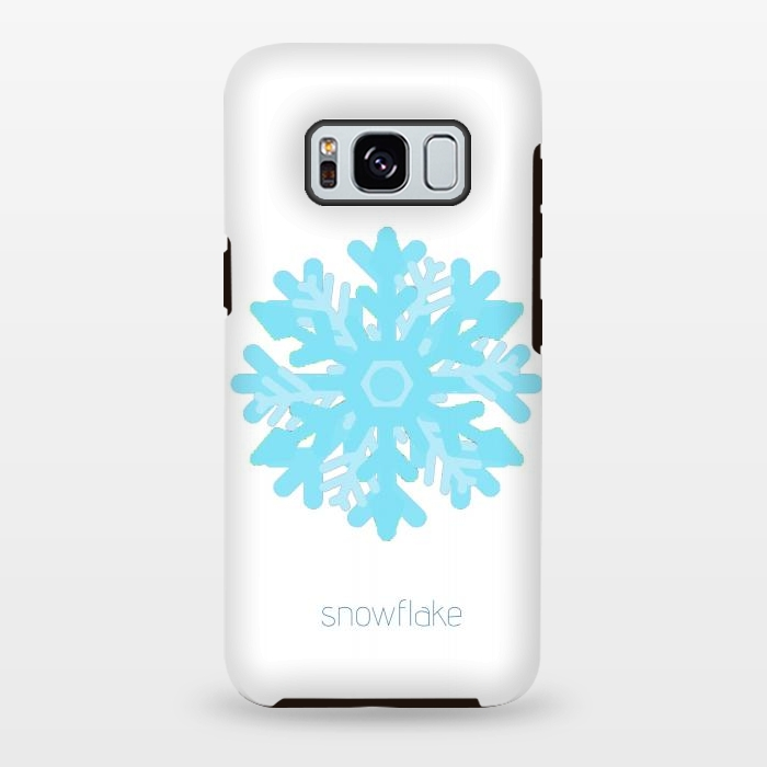Snowflake -light blue