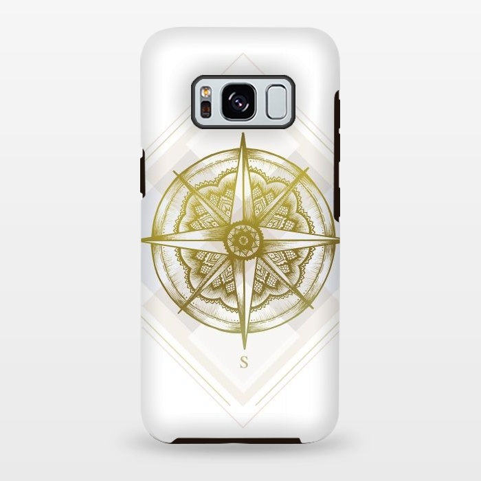 Galaxy S8 plus Cases Golden Compass by Barlena | ArtsCase
