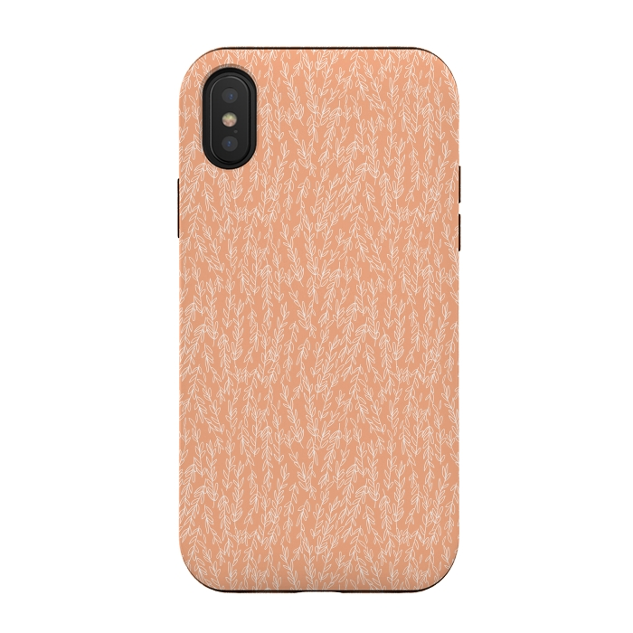 Coral Leaves - IPhone Xs / X Cases