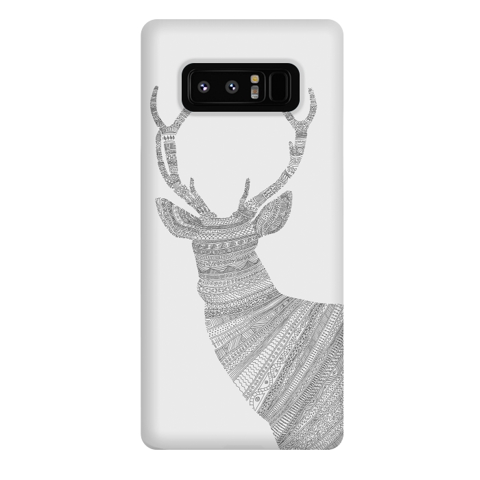 Stag Grey Poster grey
