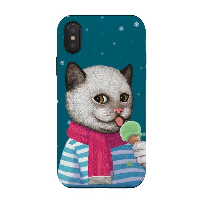 Cat and Ice Cream