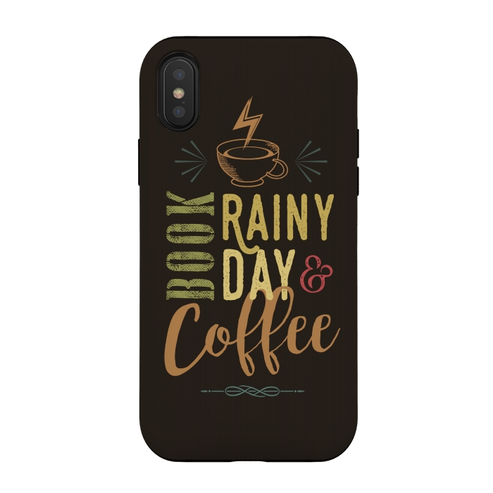 Book, Rainy Day & Coffee (a master blend)