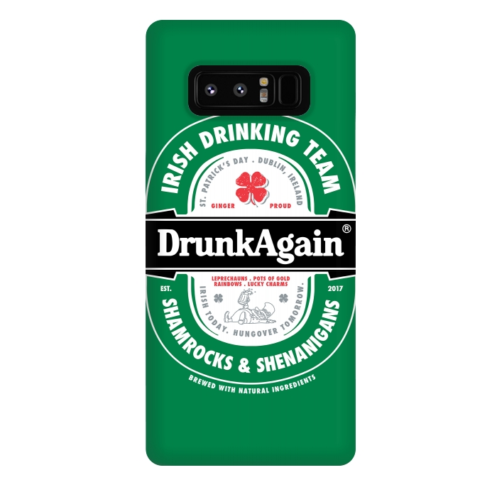 DrunkAgain Beer Label