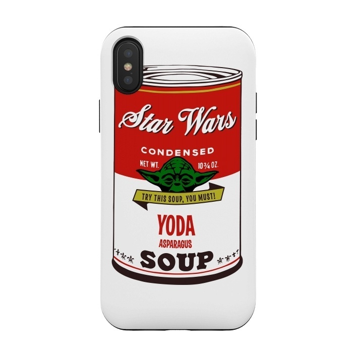 Star Wars Campbells Soup Yoda by Alisterny