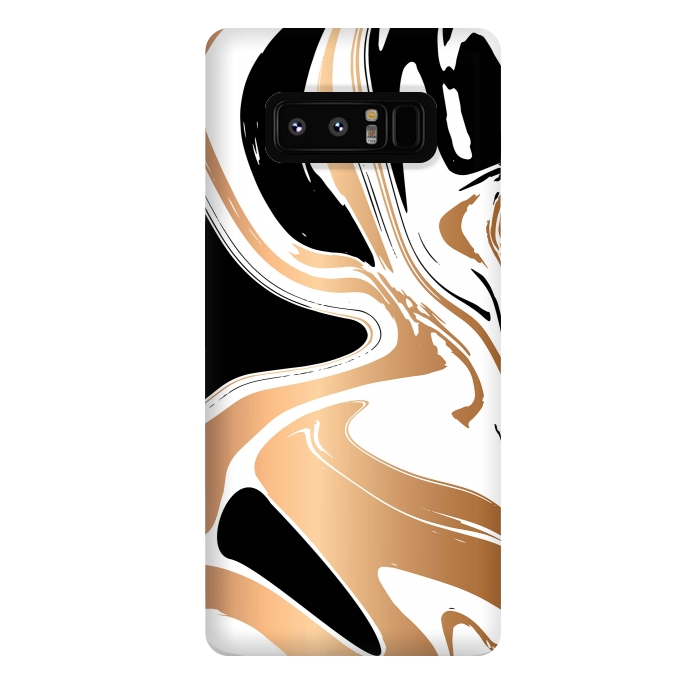 Black and Gold Marble 027