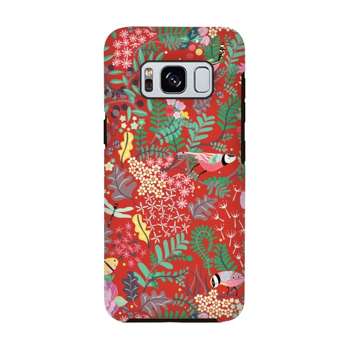 The Secret Garden Red Strongfit Galaxy S8 Cases Artscase