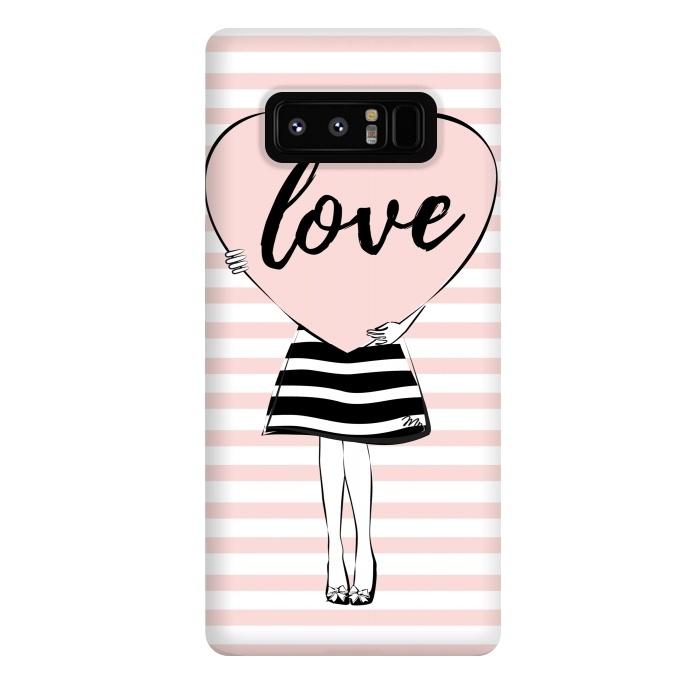 Pink Heart Love
