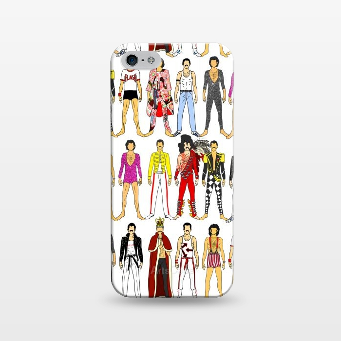 Iphone 5 5e 5s Cases Freddie By Notsniw Artscase