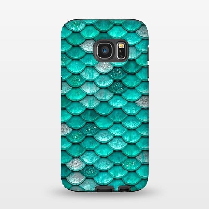 new arrival 0c0bc 5a405 Galaxy S7 Cases Mint Glitter by Utart | ArtsCase