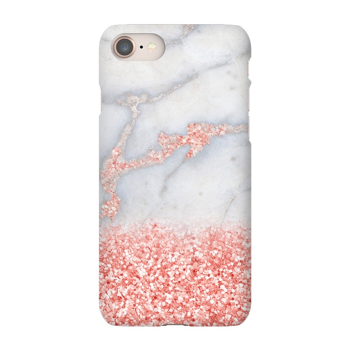 iphone 8 rose gold marble case