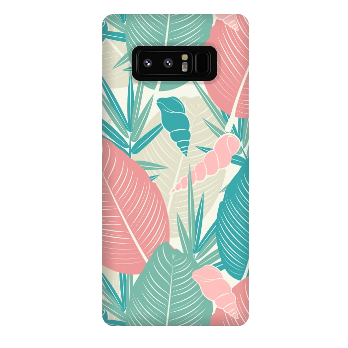 Tropical Watercolor Flower Pattern XII