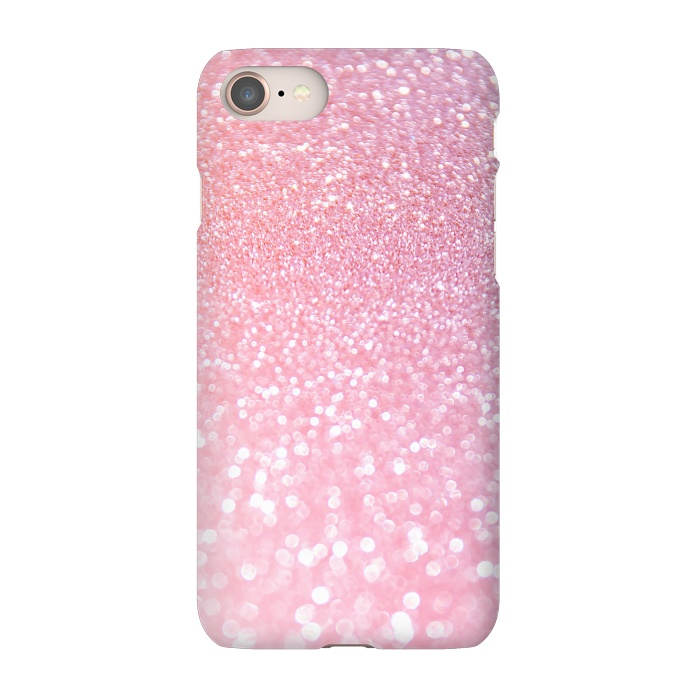 Girly Rose Gold Glitter For Slimfit Iphone 8 7