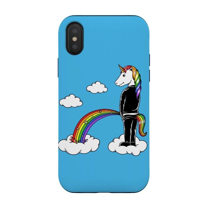 Unicorn Rainbow Blue