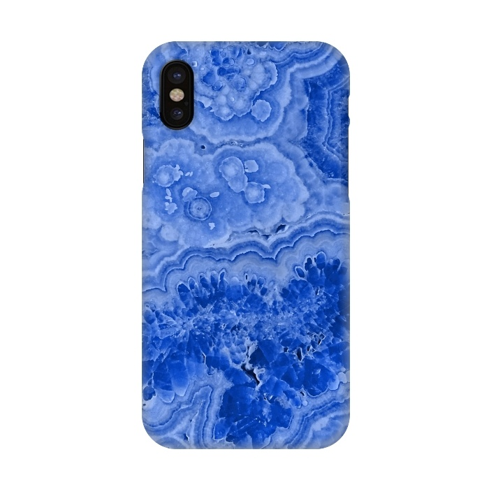 online retailer 38e48 4a35f iPhone X Cases Blue Agate by Utart | ArtsCase