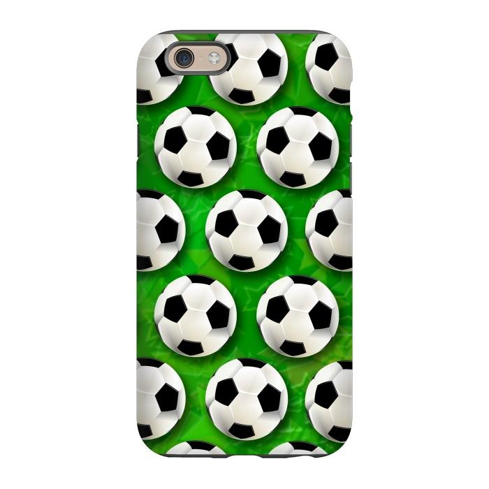 on sale 10aea 70a7c iPhone 6/6s Cases Soccer Ball by BluedarkArt | ArtsCase