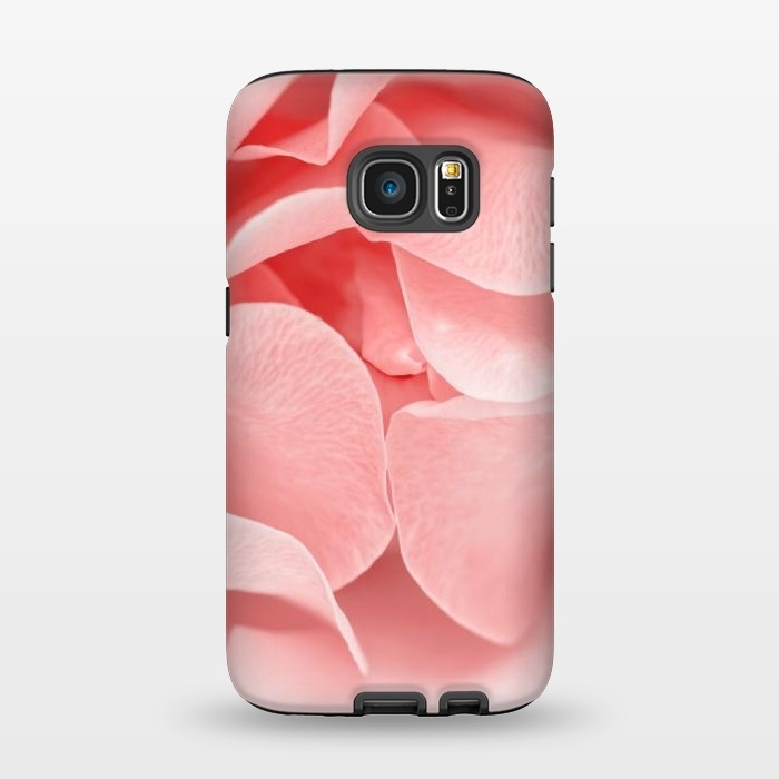 more photos 4500f b41ca Galaxy S7 Cases Pink Rose by Utart | ArtsCase