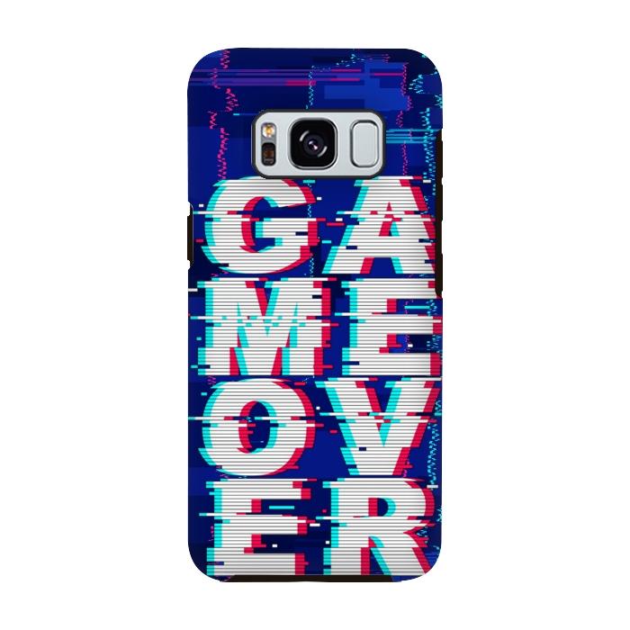 Galaxy S8 Cases Game Over by BluedarkArt   ArtsCase
