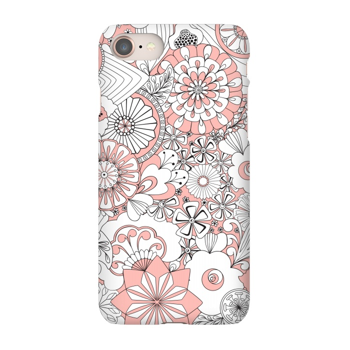 reputable site ae2b8 d77fe iPhone 8/7 Cases 70s Flowers by Paula Ohreen | ArtsCase