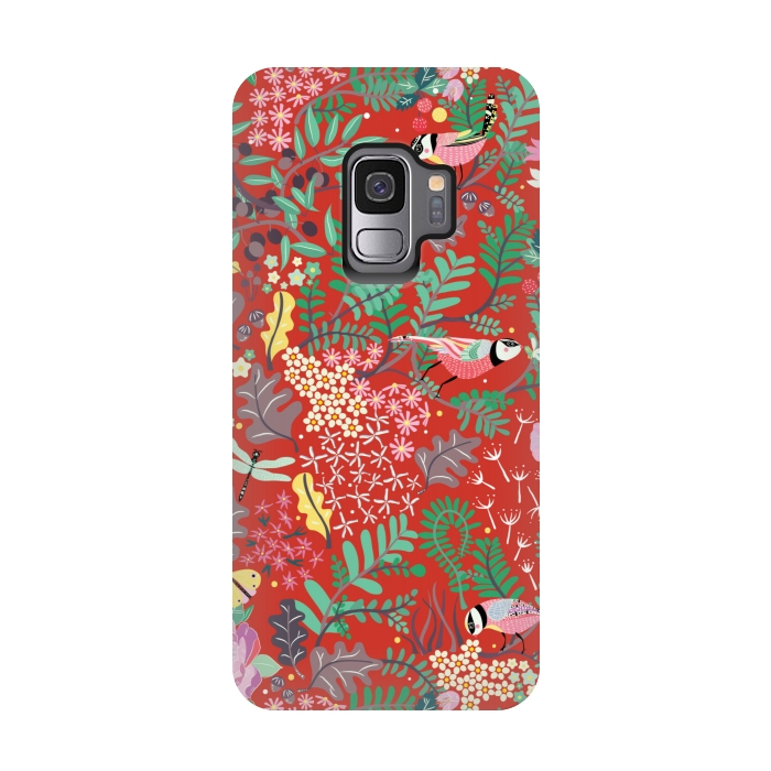 The Secret Garden Red Strongfit Galaxy S9 Cases Artscase