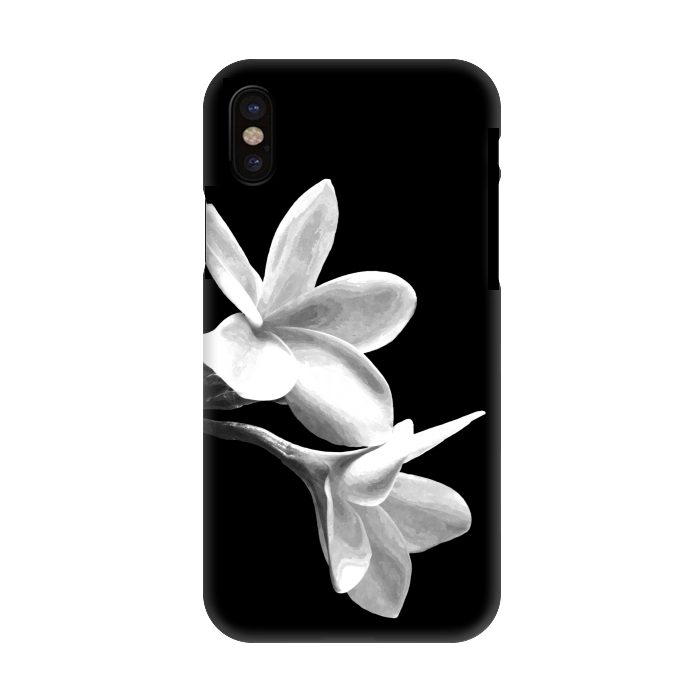 Iphone X Cases White Flowers By Alemi Artscase