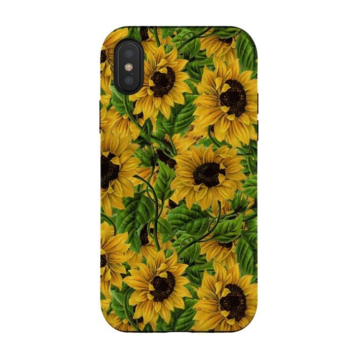 Vintage Sunflower Pattern