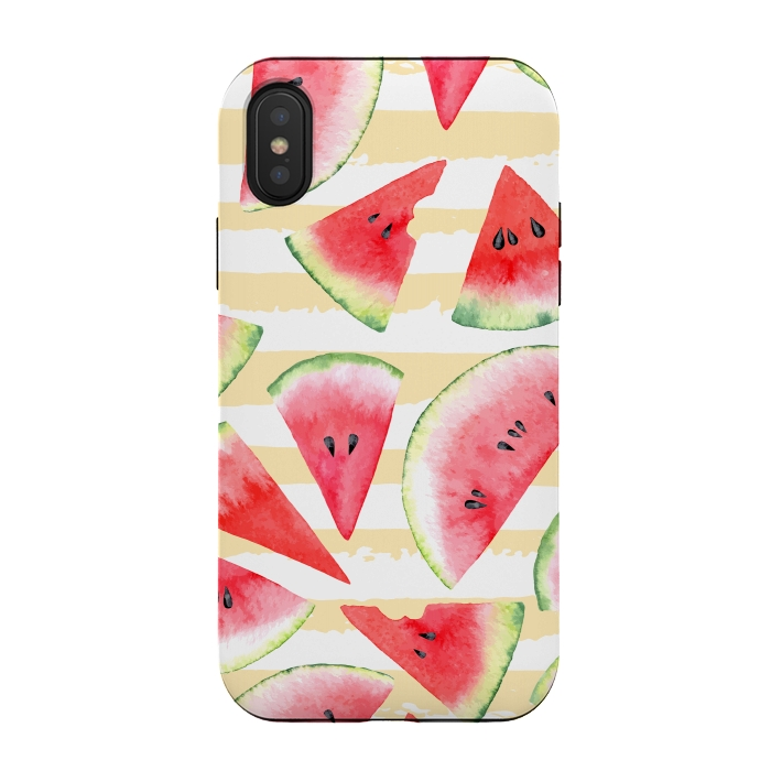iphone xs case watermelon