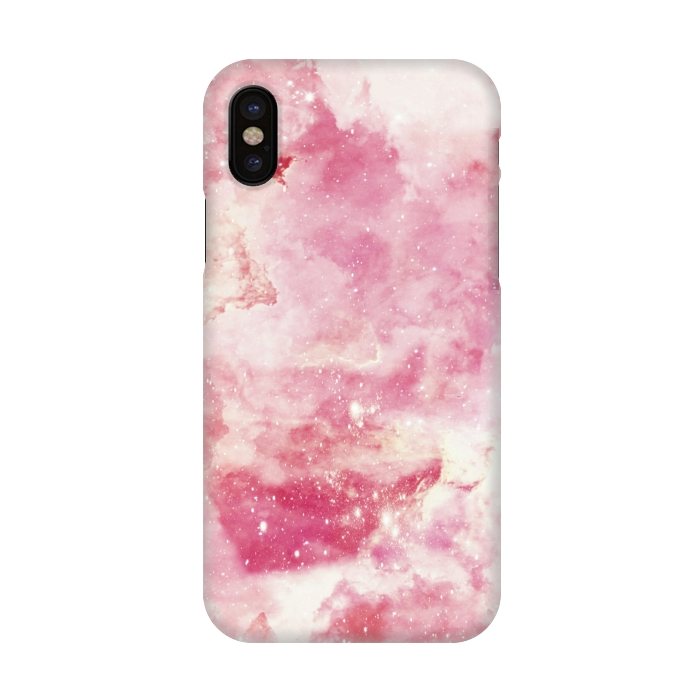 Pink galaxy marble by Jms