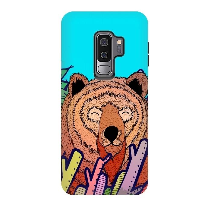 Galaxy S9 Plus Cases The Bear By Steve Wade Swade Artscase