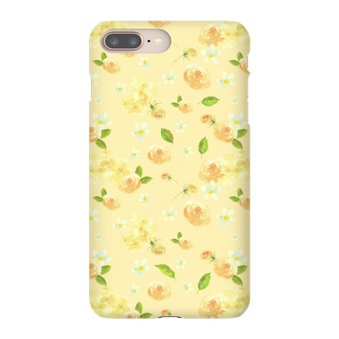 Lovely Yellow Roses Pattern