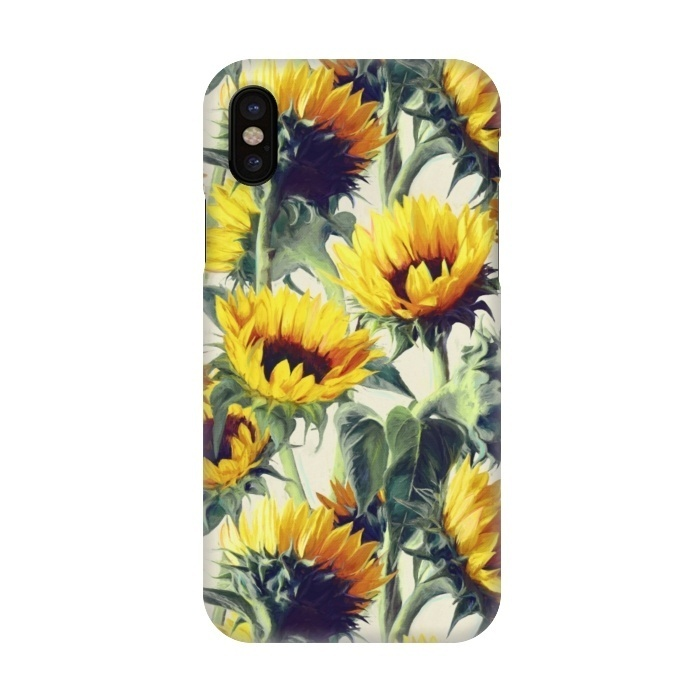 low priced 942f4 3bd7c iPhone X Cases Sunflowers Forever by Micklyn Le Feuvre | ArtsCase