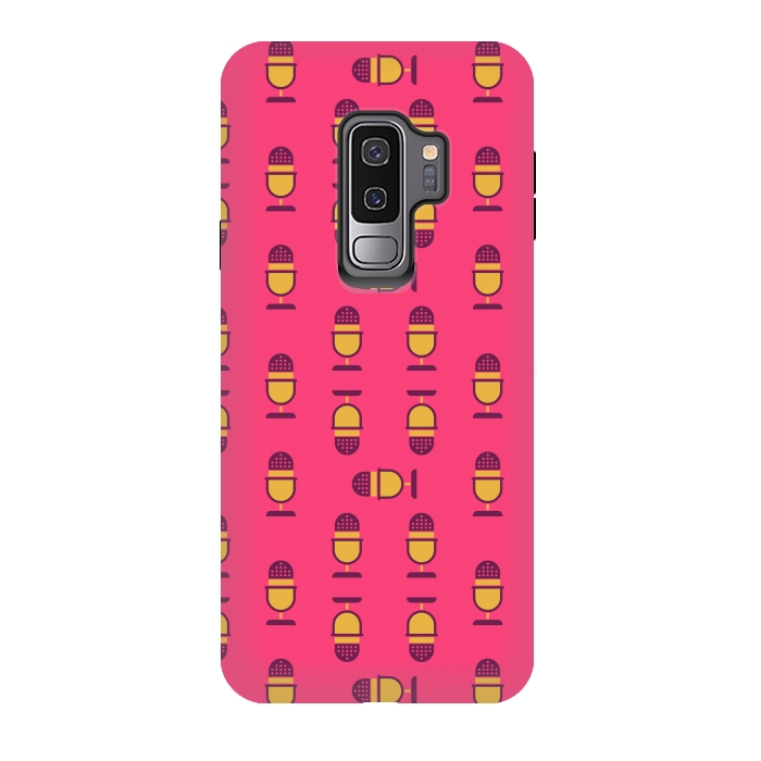 Galaxy S9 plus Cases microphone by TMSarts | ArtsCase