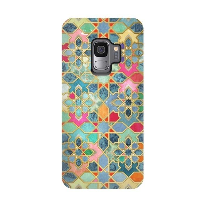 Gilt & Glory - Colorful Moroccan Mosaic